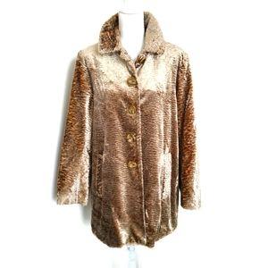 Elliot Lauren Faux Fur Long Coat size 14